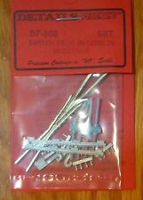 Details West HO #950 Switch Frog #6 Code 70 w/Details