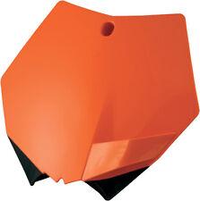 ACERBIS FRONT # PLATE (ORANGE) Fits: KTM 250 SX,250 SX-F,250 XC,250 XC-W,300 XC,