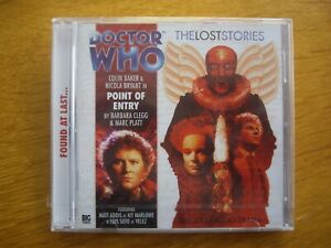 Doctor Who Point of Entry, 2010 Big Finish audio book CD *SEALED, OUT OF PRINT*