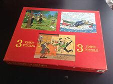 Puzzle Tintin Wavery Eldorado 1977 TRES TRES BON ETAT