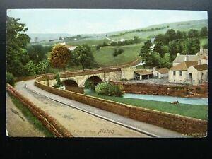 Cumbria ALSTON Tyne Bridge - Old Postcard by N&C Series