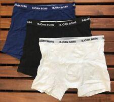 Bjorn Borg Men's Trunks (3 Pack) - Medium - Black White Navy - BB-99991024-70101