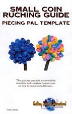 Quilting Creations International Small Coin Ruching Guide Template - Ribbonwork