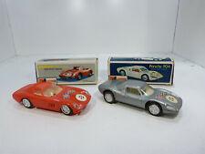 Zee Toys Zylmex Porsche 904 + Ferrari 250 Le Mans Hong Kong Friction Toy Car