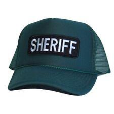 Vintage Sheriff Trucker Hat - Green