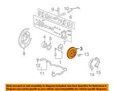 HONDA OEM Rear Brake-Rotor 42510S3VA01