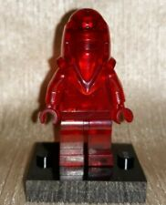 Genuine LEGO Star Wars Trans Red Royal Guard Prototype Minifig Misprint?