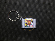 FUN Mario Party 3 3D CARTRIDGE KEYCHAIN Nintendo 64 N64 collectible