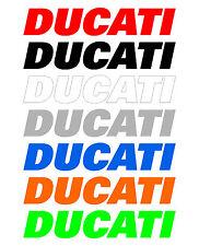 3 Adesivi DUCATI per serbatoio Diavel Monster Panigale stickers moto racing