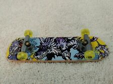 Digimon Digital Monsters Series 2 Fingerboard Skate Board Garurumon(?)