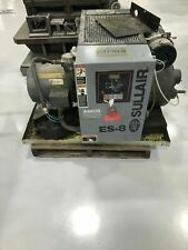 USED SULLAIR ES-8   25-HP SKID MOUNT ROTARY COMP W/ COMPUTER