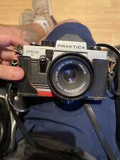 PRAKTICA MTL5 Camera (2.8/50 Lens )35mm SLR & pentagon case