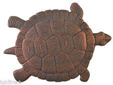 Large Turtle Stepping Stone Decorative Bronze Cast Iron Yard Garden flagstone N