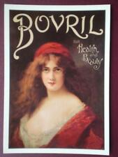 POSTCARD  ADVERT  BOVRIL FOR HEALTH & BEAUTY