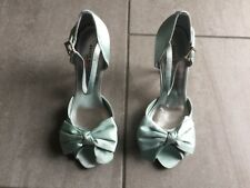 Karen Millen Ladies Peep Toe High Heeled Shoes/Sandals Size 36/4 Great Condition