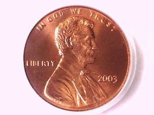 2003 P Lincoln Memorial Cent PCGS MS 68 RD 71830394
