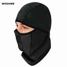 Cycling Cap Thermal Fleece Waterproof PU Hat Balaclava Mask Comfort Windproof