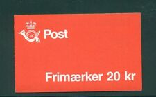 Denmark 1985 20 Kr Booklet Facit H52 print 29