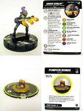 HeroClix - #035 Green Goblin + #s001 Pumpkin Bombs - Spider-Man and Venom