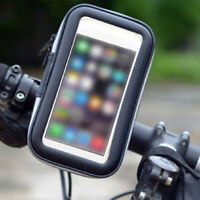 1X 360° Bike Mount Waterproof Holder Case Bicycle Cover for  Mobile Phone Uskt