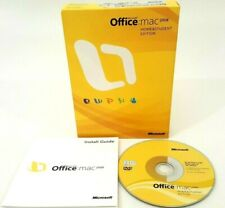 Microsoft Office: Mac 2008 Home & Student Edition with Install Guide - Complete
