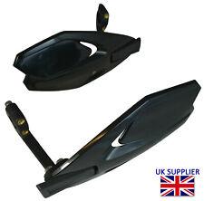 Black Handguards Wind Deflectors Quad Bike Protectors For Suzuki Motorbikes