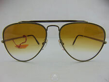 Vintage 80 SOL AMOR Occhiali da Sole Sunglasses Aviator Goccia France NOS VTG