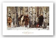 Warming Up David R Stoecklein Art Print 17x30