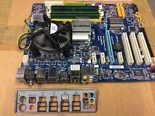 Kit carte mère Gigabyte + Processeur Core 2 Quad Q9400 + Ram 4go DDR2