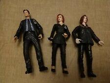 "Fox Mulder & 2 Dana Scully 6"" Figures X-FILES"