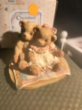 Cherished Teddies - Nathaniel & Nellie It's Twice As Nice With You 1991 Nib