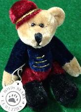 Boyds Bears 1999 Timothy F. Wuzzie Miniature Posable Bellhop Bear 595140 Retired