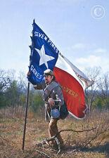 """The Texas Battle Flag"" John Paul Strain Miniature Giclee Paper Print"