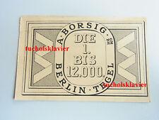 RAR! Werbe-AK 1926 / BORSIG-Werk Berlin-Tegel: Jubiläum 12.000 Lokomotive