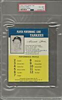 1964 Challenge The Yankees WHITEY FORD  PSA 6 EX-MT