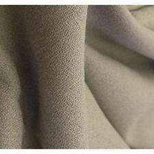Taupe/Dark Almond Wool Crepe Suiting - Versatile, Elegant, Classic
