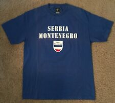 Serbia Montenegro FIFA World Cup Germany 2006 Djordjevic #14 Blue T Shirt Large