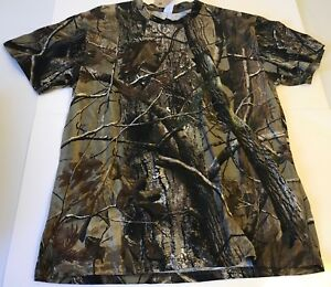NWT Real Tree Brand Camo Hunting Outdoor Men's T Shirt Size L