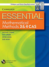 Essential Mathematical Methods CAS 3 and 4 without CD-Rom TIN/CP Version: L