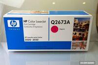 HP Q2673A Toner Cartridge Magenta HP 309A Original für Color Laserjet 3500 Serie