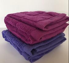 Tupperware Microfiber Multi-purpose Towel Set of 2 Towels Lupine & Pink Rare New
