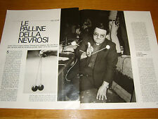 CLIC CLAC CLACKERS PALLINE NEVROSI vintage clipping articolo foto photo 1971
