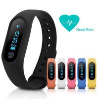 Smart Band Heart Rate Wristband Watch Bracelet Fitness Tracker Sleep Monitor FD