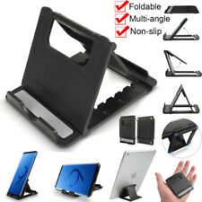Foldable Multi-angle Cell Phone Desk Stand Tablet Holder Mount Cradle Universal