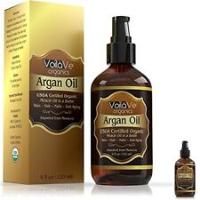 100 Percent Pure Morrocan Argan Oil Cold Pressed for Hair and Face 4fl.oz Spraye