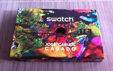 VINTAGE ANCIENNE BOITE MONTRE SWATCH JOSE CARLOS CASADO Box Watch Collection
