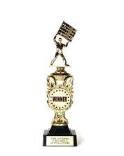 Winner Trophy- Flagman- Race- Winner- First- Desktop Series- Free Lettering