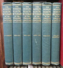 THE MODERN ECLECTIC DICTIONARY OF THE ENGLISH LANGUAGE 6 Volume Set Collier 1904