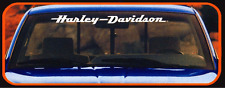 HARLEY DAVIDSON Motor Cycles Windshield Decal 003