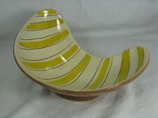 """Well shaped 50´s """"influenza"""" design pottery bowl/Bella Forma Guscio in ceramica 1074/3"""